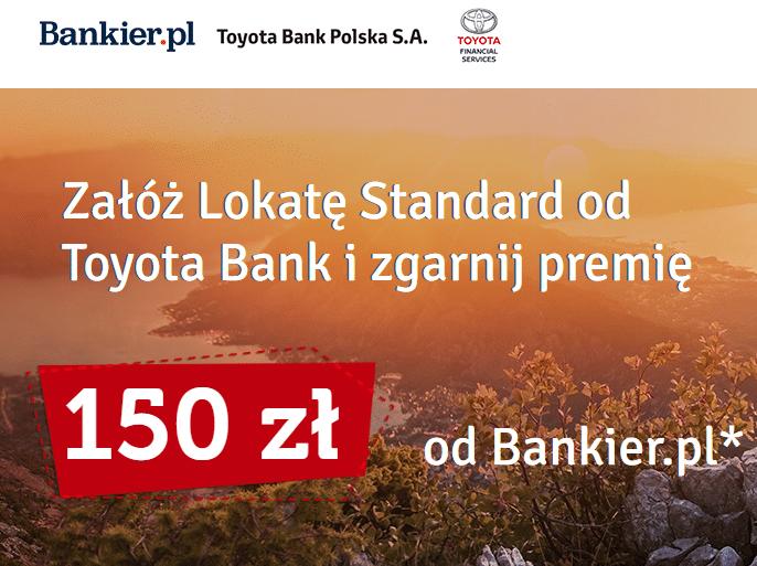 Lokata Standard Toyota Banku - najlepsza lokata obecnie?
