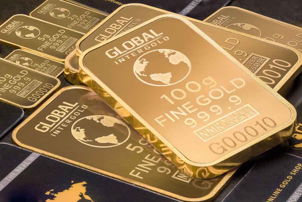 Prawdziwe złoto - sztabki złota 100 g
