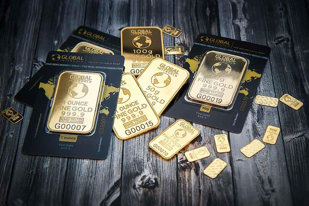Ile kosztuje złoto? Ilustracja: Sztabki złota