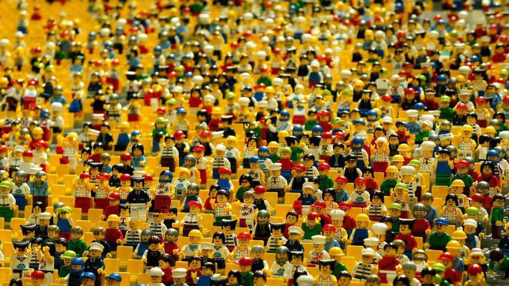 Lego - ludziki lego